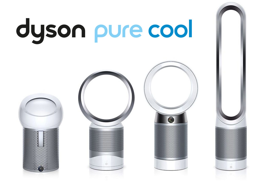 La gamme de Purificateurs & Ventilateurs Dyson
