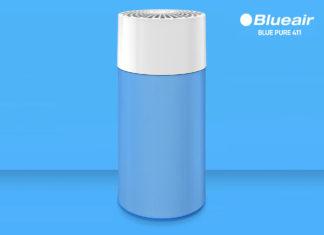 Purificateur portatif haute-performance Blueair Blue Pure 411