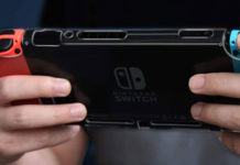 Console Nintendo Switch portable avec protection