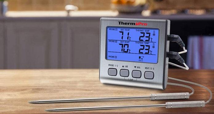 Thermomètre numérique ThermoPro TP17 sonde multiple