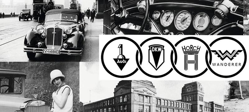 A l'origine de la marque automobile allemande Audi