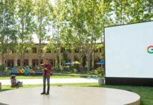 Sundar Pichai présente la conférence Google IO 2021