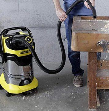 Kärcher VD 6 Premium, un excellent aspirateur d'atelier (ou aspirateur eau et poussière