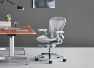 Chaise de bureau ergonomique Herman Miller Aeron
